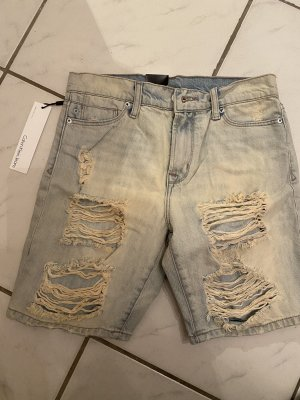 Calvin Klein Jeans Pantaloncino di jeans blu pallido Cotone
