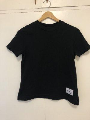 Calvin Klein Jeans T-shirt zwart