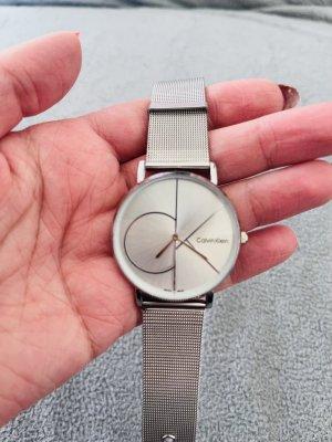 Calvin Klein Horloge met metalen riempje wit