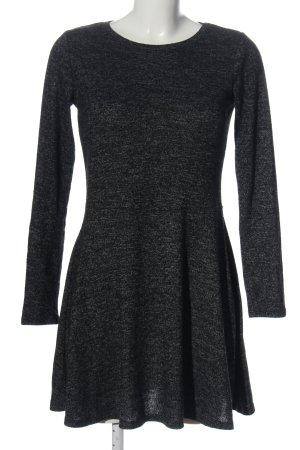 Ckh clockhouse Longsleeve Dress black-light grey flecked elegant