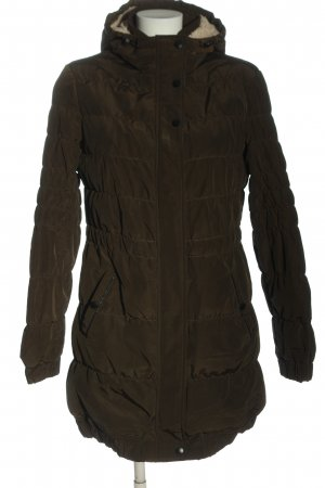 Ckh clockhouse Long Jacket brown quilting pattern casual look