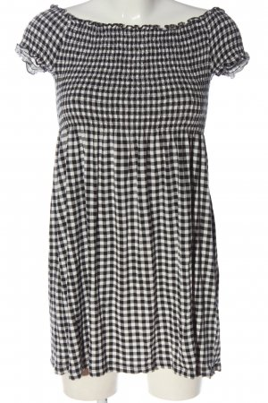 Ckh clockhouse Mini Dress white-black allover print elegant