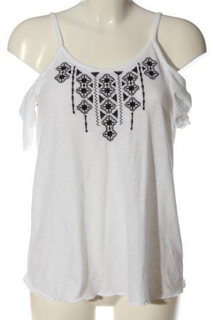 Ckh clockhouse T-Shirt white-black casual look
