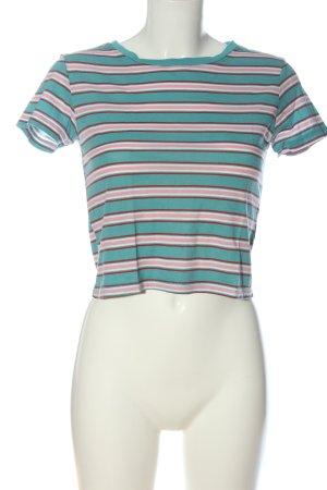 Ckh T-shirt court motif rayé style décontracté