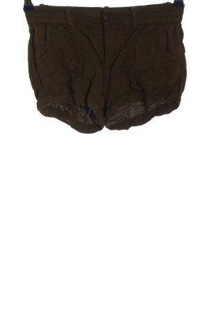 Ckh Hot Pants brown casual look