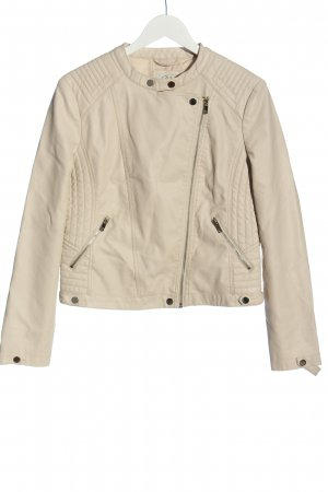 Ckh Faux Leather Jacket natural white casual look