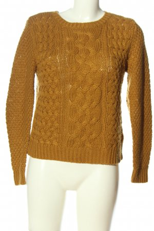 Ckh Knitted Sweater primrose cable stitch casual look