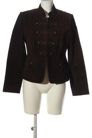 CKN of Scandinavia Leather Blazer brown business style