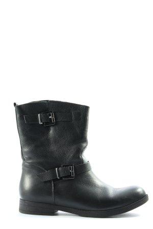 CKS Jeans Wciągane buty za kostkę czarny W stylu casual