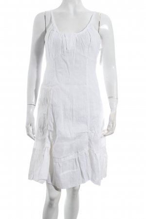 Claire.dk Pinafore dress white