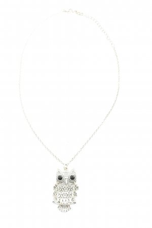 claire's Collier Necklace silver-colored casual look