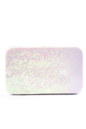 claire's Portmonetka srebrny-różowy Elegancki