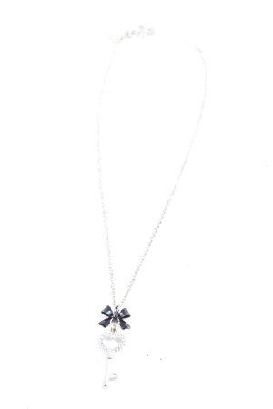Claires Silberkette silberfarben Elegant