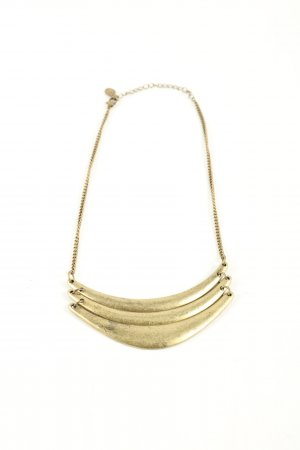 Claires Statement Necklace gold-colored casual look