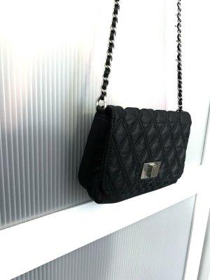 claire's Handbag black-silver-colored