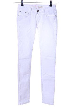CLANDJONES Five-Pocket Trousers white casual look