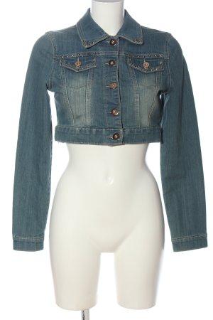 CLANDJONES Denim Jacket blue casual look