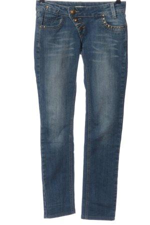 CLANDJONES Tube Jeans blue casual look