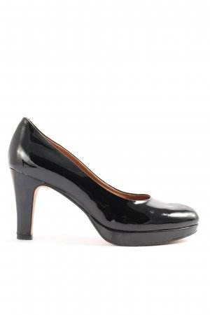 Clanks High-Front Pumps black business style