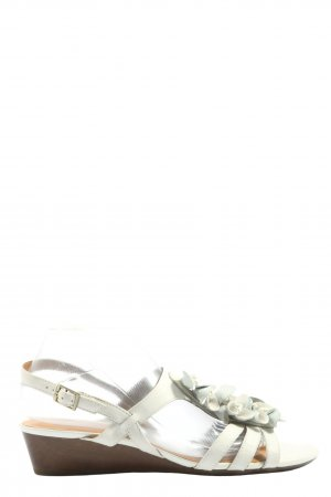 Clanks Strapped High-Heeled Sandals light grey casual look