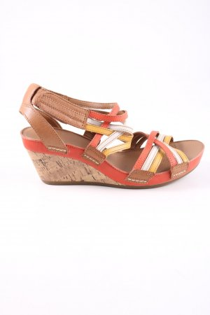 Clanks Strapped pumps multicolored casual look