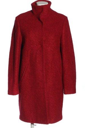 Clarina Cappotto lungo fino a terra rosso stile casual