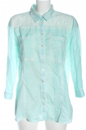 Clarina Shirt Blouse turquoise casual look