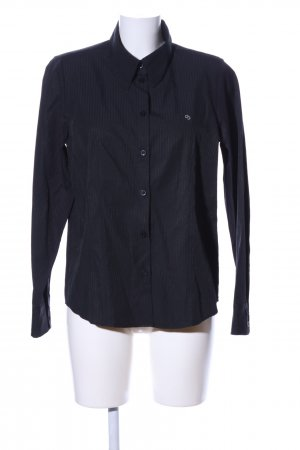 Clarina Shirt Blouse black striped pattern casual look