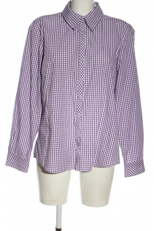 Clarina Lumberjack Shirt lilac-white allover print casual look