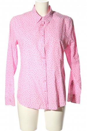 Clarina Long Sleeve Blouse pink-white allover print casual look
