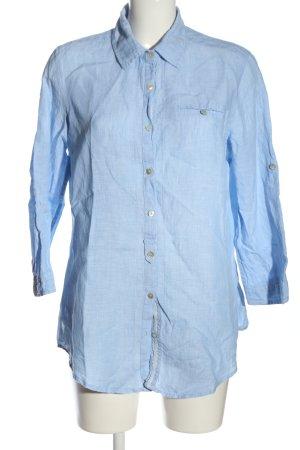 Clarina Long Sleeve Shirt blue business style