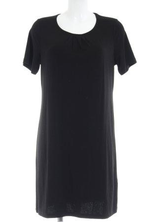 Clarina Minikleid schwarz schlichter Stil