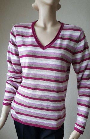 Clarina V-Neck Sweater multicolored