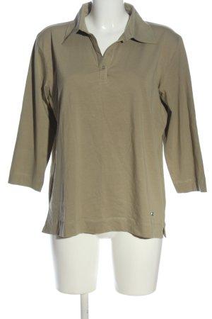 Clarina Polo Shirt brown casual look