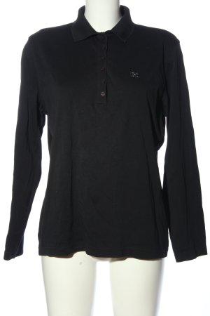 Clarina Koszulka polo czarny W stylu casual