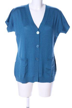 Clarina Kurtka o kroju koszulki niebieski W stylu casual