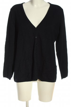 Clarina Knitted Cardigan black casual look