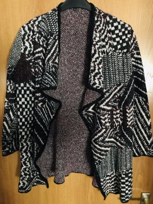 Clarina Poncho en tricot multicolore