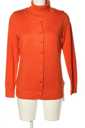 Clarina Woven Twin Set light orange casual look