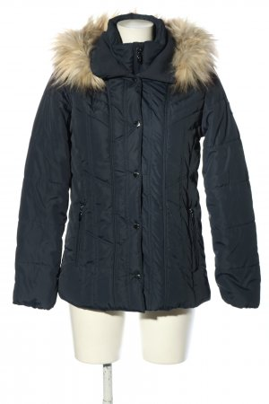 Clarina Winter Jacket black quilting pattern casual look
