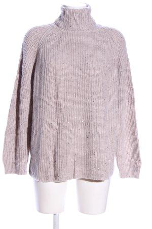 Clarina Wełniany sweter w kolorze białej wełny W stylu casual