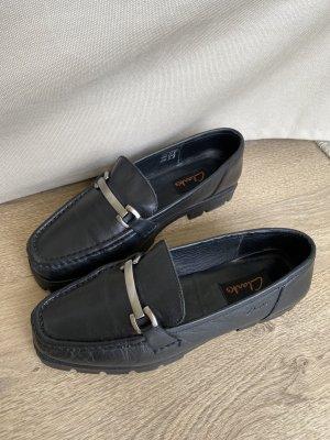 Clarks Chaussures bateau noir