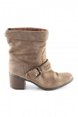 Clarks Ankle Boots braun Casual-Look
