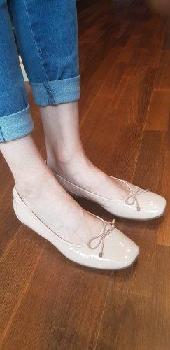 Clarks Lakleren ballerina's nude-rosé