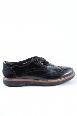 Clarks Budapester schwarz Casual-Look