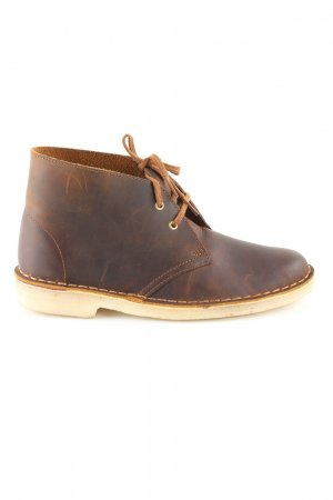 Clarks Chelsea Boots brown business style