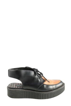 Clarks Scarpa Derby nero-arancione chiaro stile casual