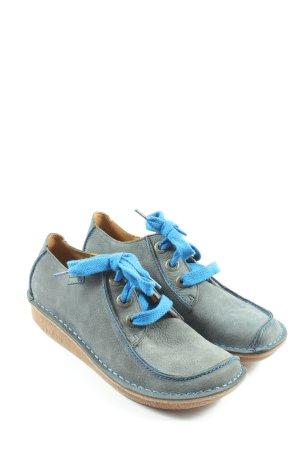 Clarks Desert Boots blau Casual-Look