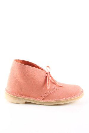 Clarks Desert Boots braun-rot Casual-Look