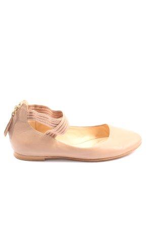 Clarks Riemchen Ballerinas creme Elegant